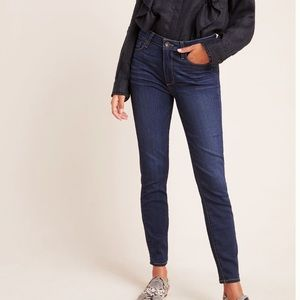 ANTHRO Paige Hoxton High Rise Skinny Jeans NWT 25